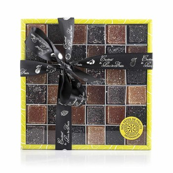 Boîte carrée 36 Pâtes de Fruits panachées 460 Grs | PDF460