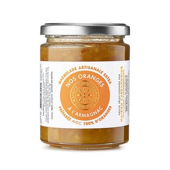 Confiture Artisanale Extra d'Oranges à l'Armagnac