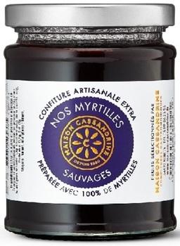 Homemade Top-Quality Wild Blueberry Jam
