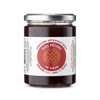 Homemade Top-Quality Vineyard Peach Jam